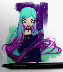 Liquid Hair by aalmaluar