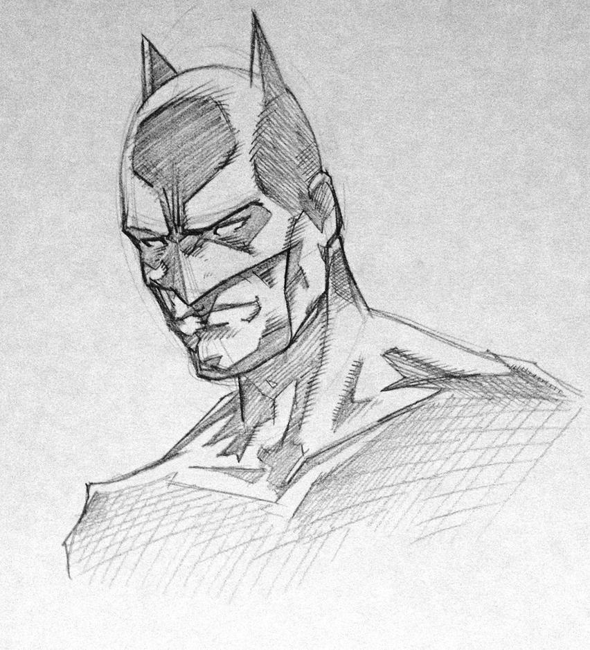Batman Pencil Sketch by Hopeslast on DeviantArt