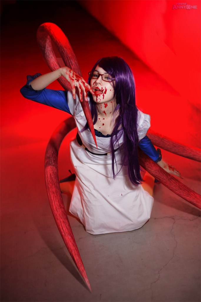 Tokyo Ghoul - Kamishiro Rize by AnnyOnne
