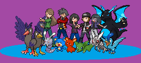 All of my Pokemon OC's and Fakemon by pinkfloyd1234