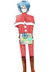 Christmas OC art(made by senjukuniisan)