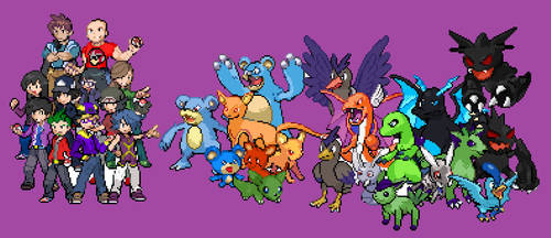 All of my Pokemon Creations