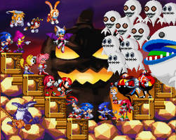 Sonic's Halloween war
