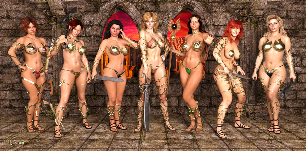 Sword of the barbarians whipping 2