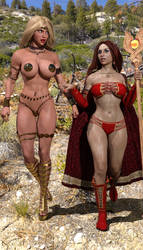 The Enchantress and the Warrior 26 by Nathanomir