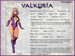Katie Ashe - Valkyria Character Card