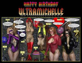 Happy Birthday Ultramichelle by Nathanomir