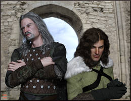The Auraverse: Reidwulf and Albert by Nathanomir