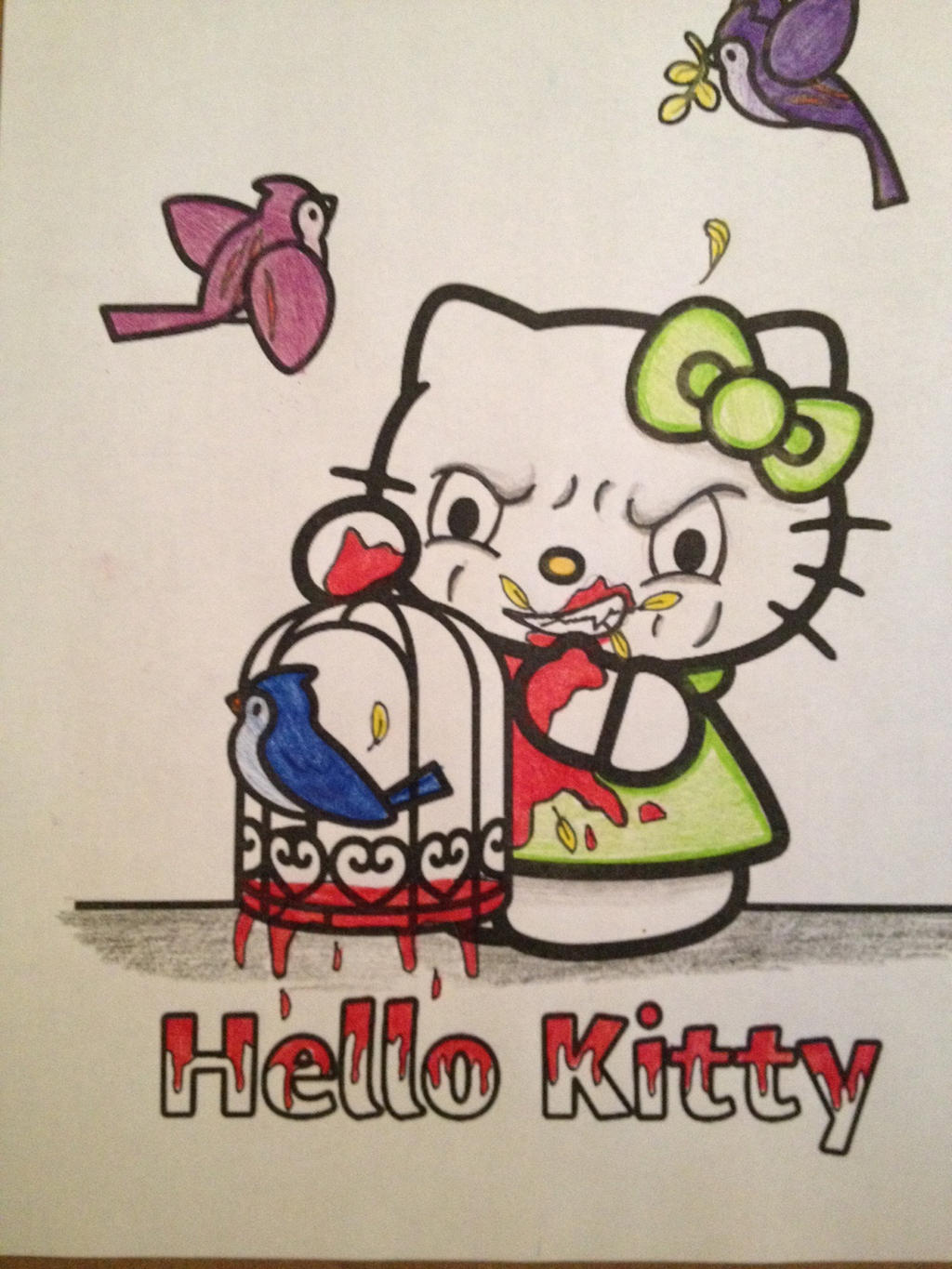 hello krazy coloring book corruption by mmm brainss on deviantart