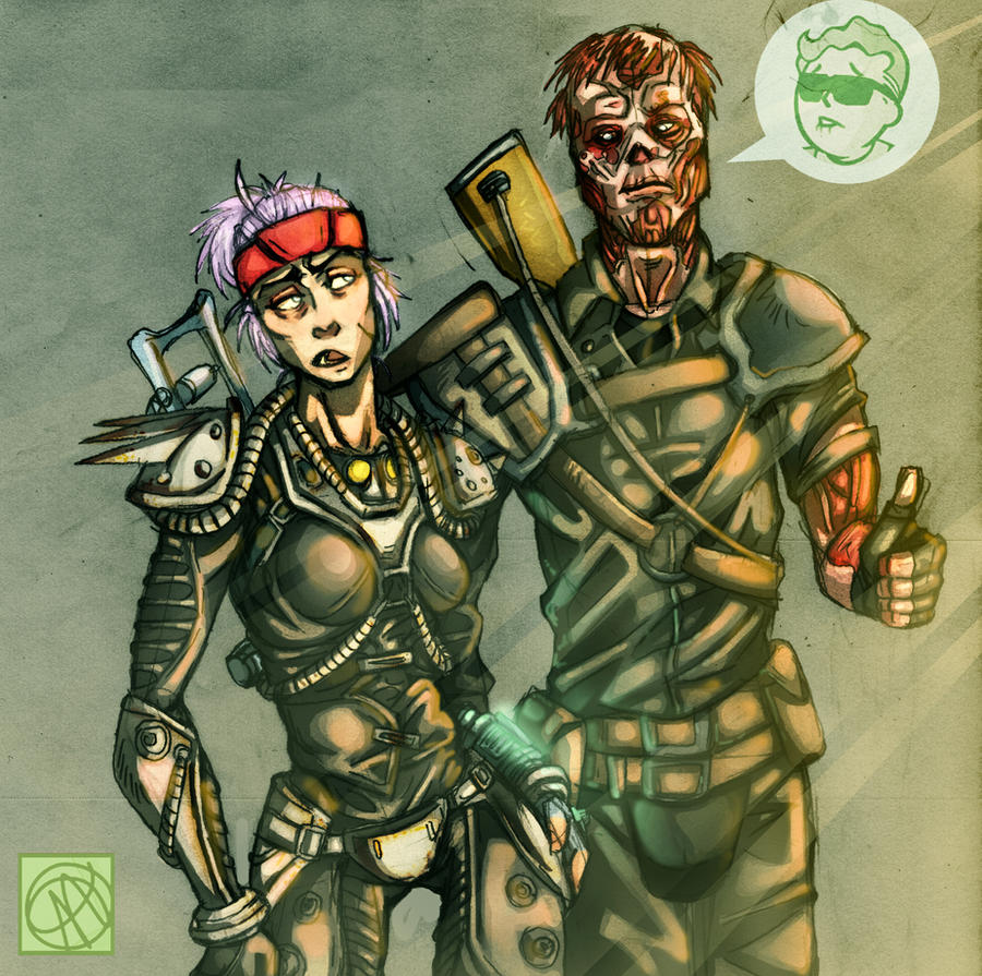 Fallout 3 Fan Art: Fathom And Charon By Andava On DeviantArt