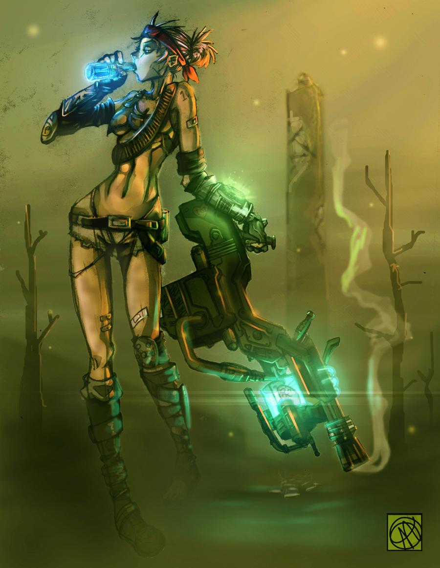Woof Woof Fathom/Raider armor by andava