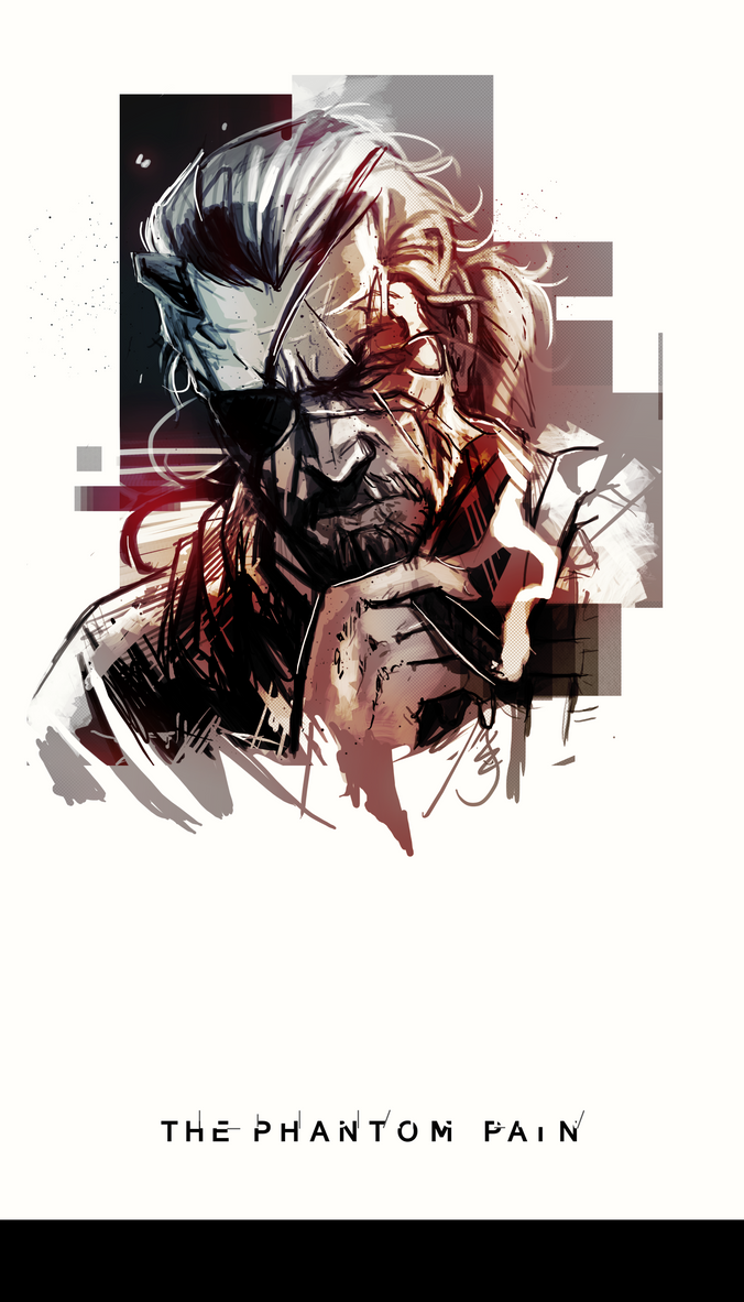 MGS V PP poster by andava