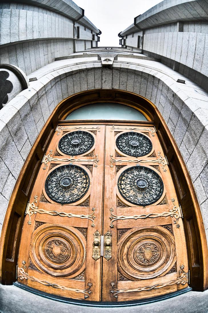 Temple Door fisheye by clinekurt78