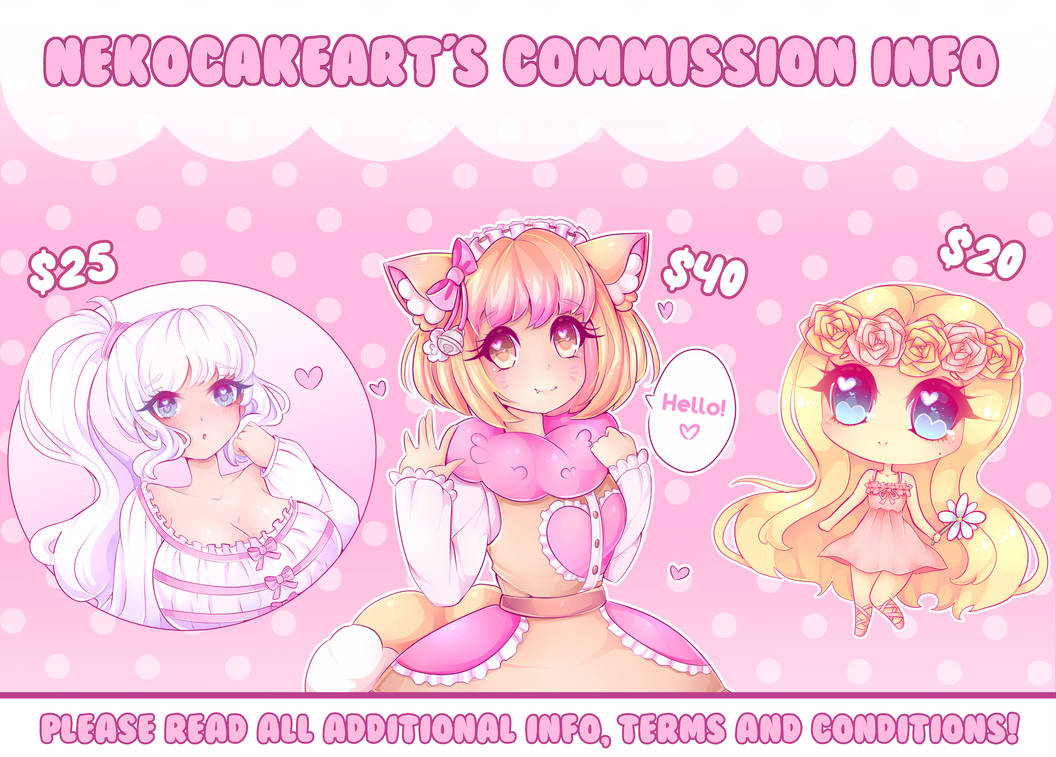 ( OPEN ) Commission Info!