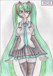 Miku by Ging1991