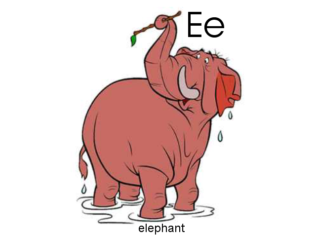 E Is For Elephant By Brian Draney