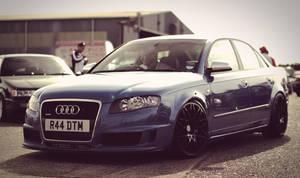 Blue A4