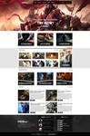 FOURBOX - Gaming site design