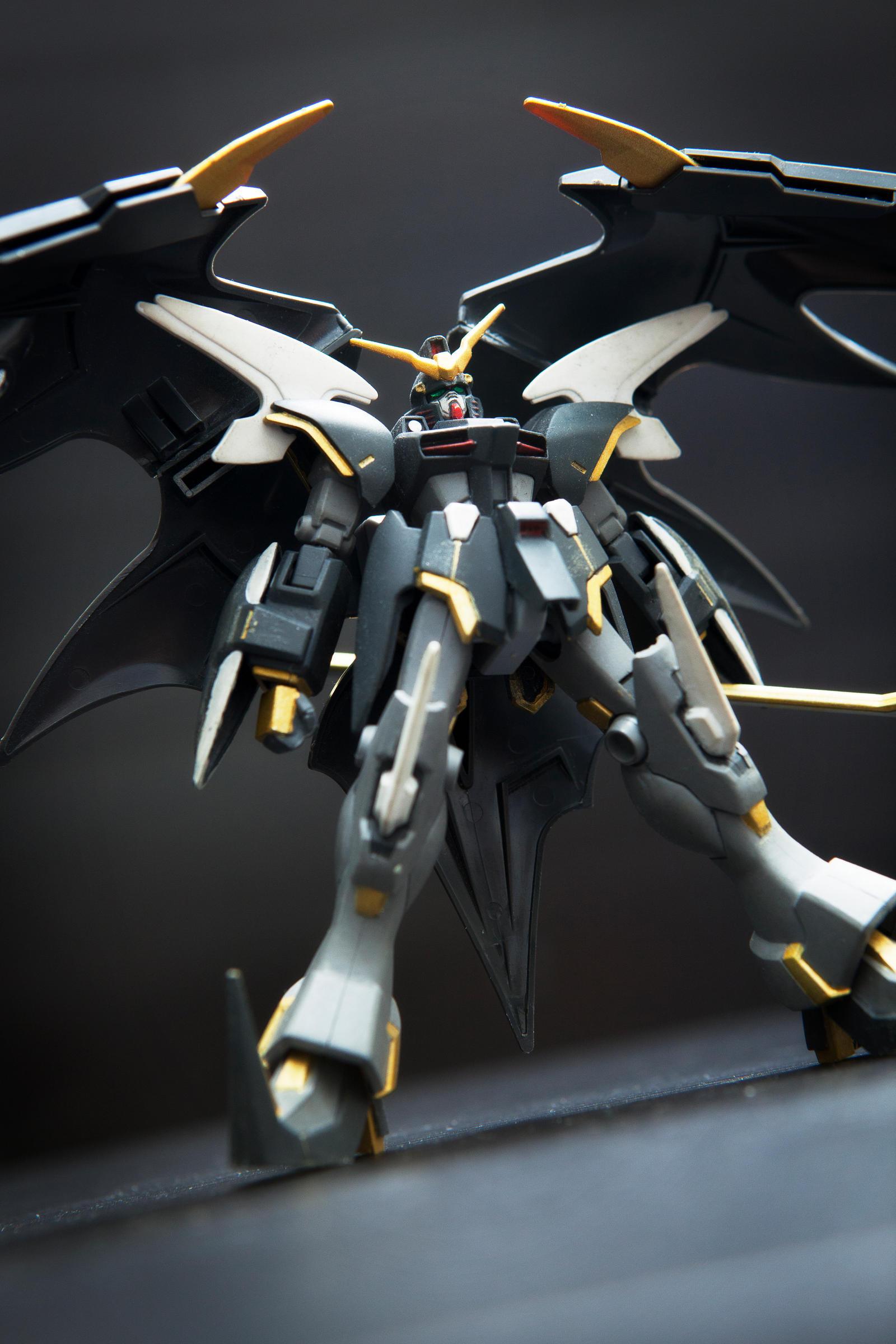 Gundam deathscythe hell custom papercraft