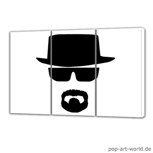 breaking bad walter white pop art by pop art world on. Black Bedroom Furniture Sets. Home Design Ideas