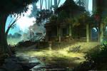 Lost jungle Temple