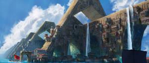 AtlantisThe Ancient City Environment