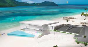 Terraformed Planet Resort