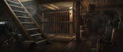 Medieval Ship Interior