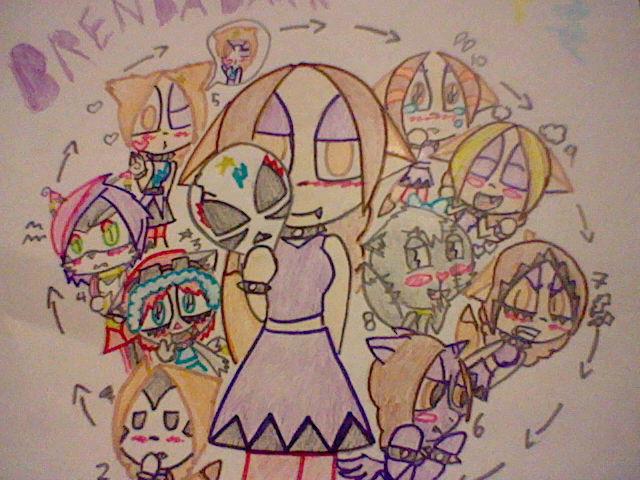 ten faced brendadark by brendadark