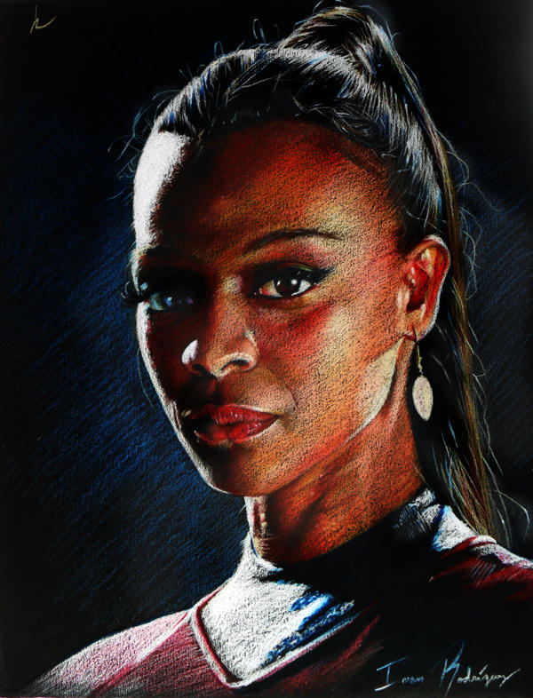 Colors Collection - Uhura / Zoe Saldana by TERRIBLEart