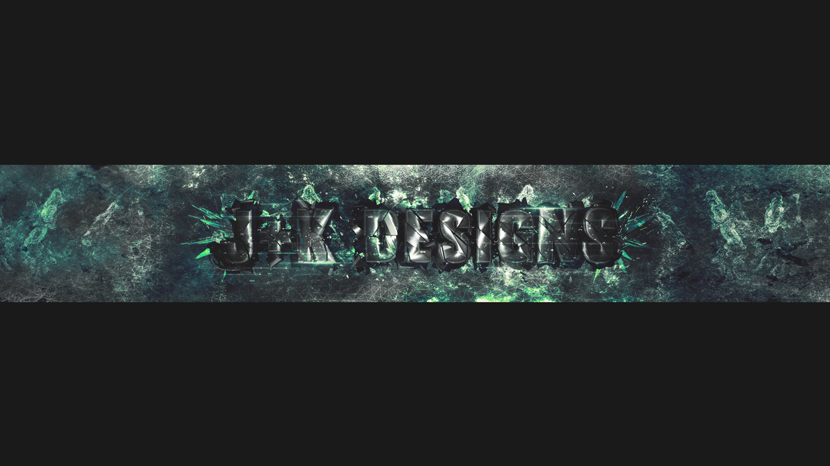 J+K Designs Youtube Banner by kyra018