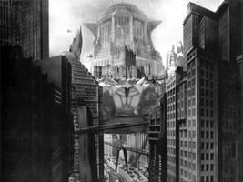 Metropolis vs Castle Crab by Dshotinthefacepirate