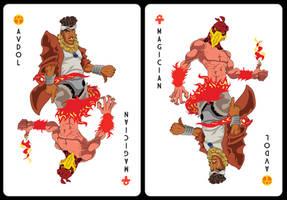 Avdol Card by Dshotinthefacepirate