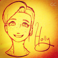 Holly's Hello by UmbraCrux