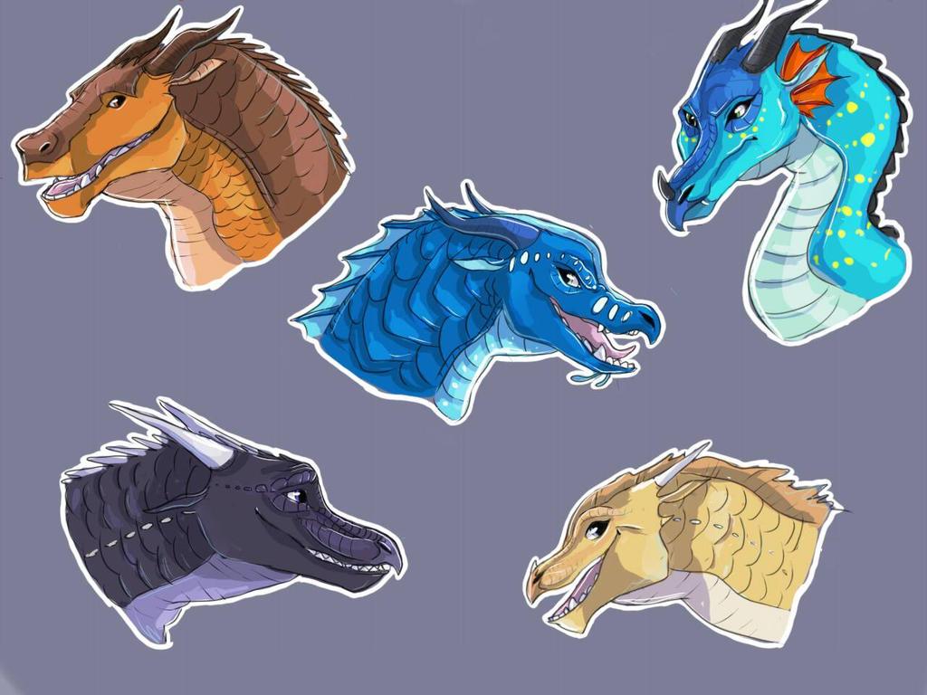 Dragonets of Destiny by GayWing on DeviantArt