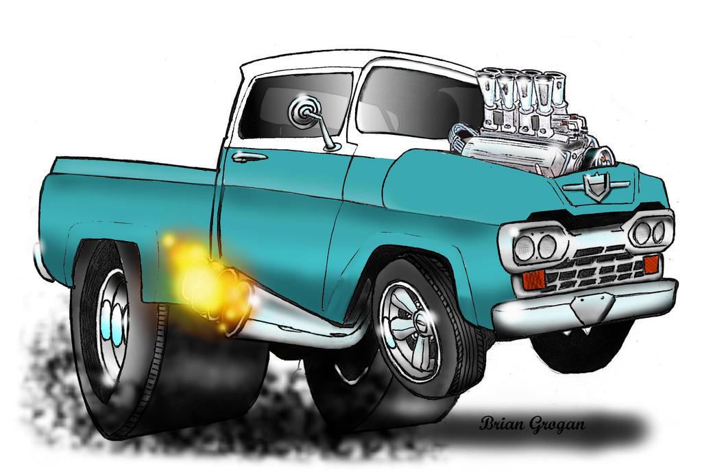 Ford Hot Rod Truck by Texapache on DeviantArt