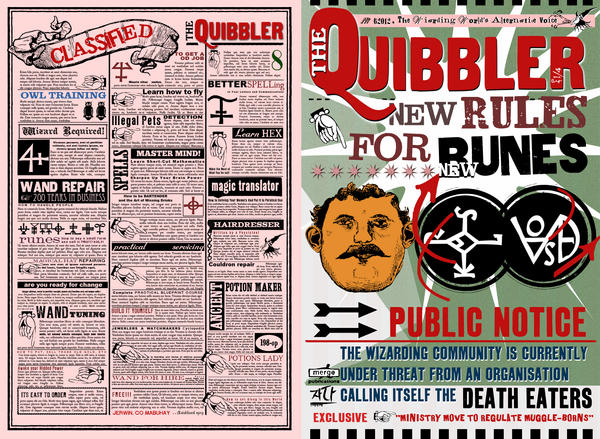 Quibbler Cover Quibbler page by Wiwin...