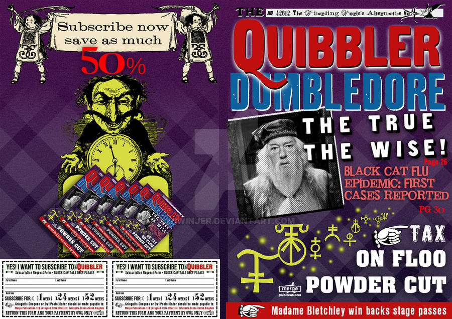 Quibbler Cover quibbler cover by Wiwi...
