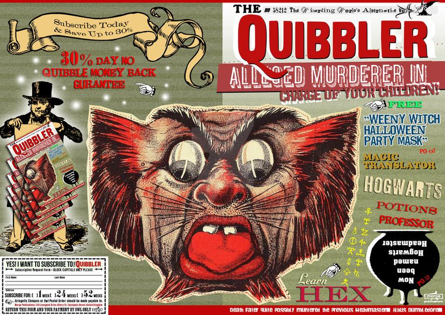 Quibbler : Alleged murderer by WiwinJer on DeviantArtQuibbler Printable Cover