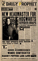 DP:Severus Snape by WiwinJer