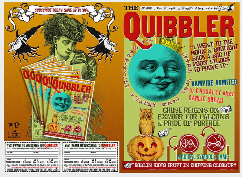 Quibbler Cover Quibbler 4 by WiwinJer...