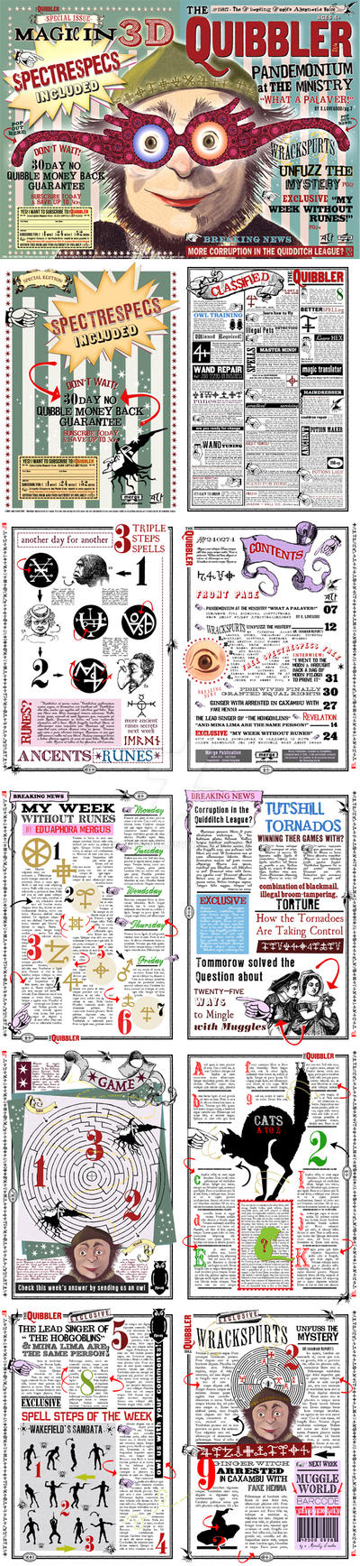 Quibbler Spectrespecs Replica Version with pages. by WiwinJer