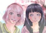 Sakura Y Hinata the last