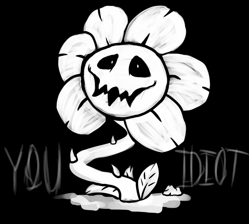 Flowey the Flower by 5-Tails