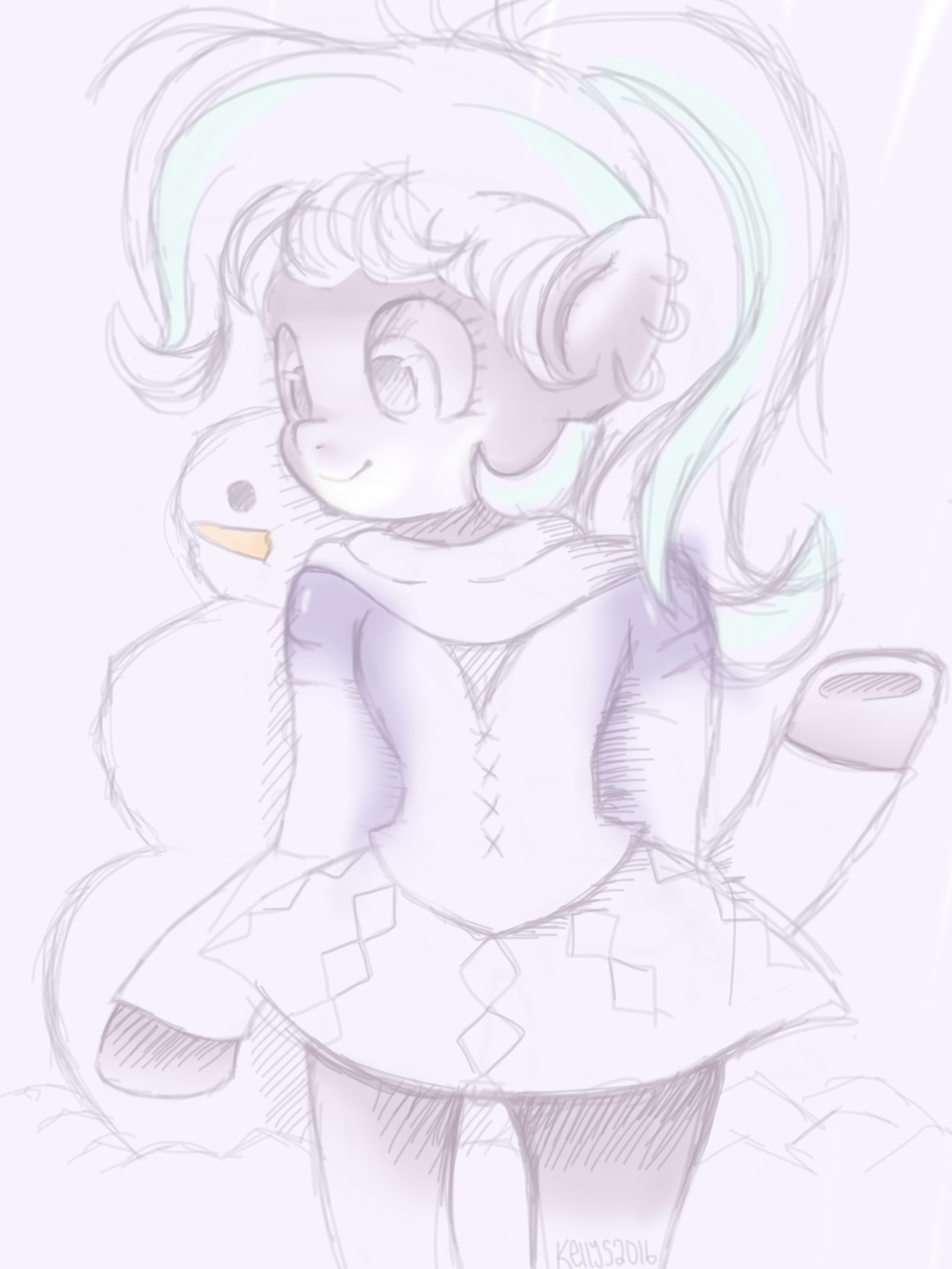 Here we have a crappy sketch of Starlight Glimmer by xKellySDrawsx