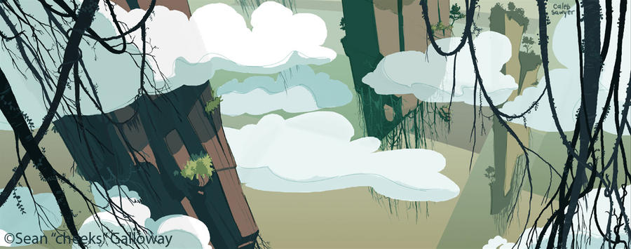 B7 background: earth2 by calebsawyer