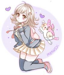 Sketch - Chiaki Nanami by Meawsy