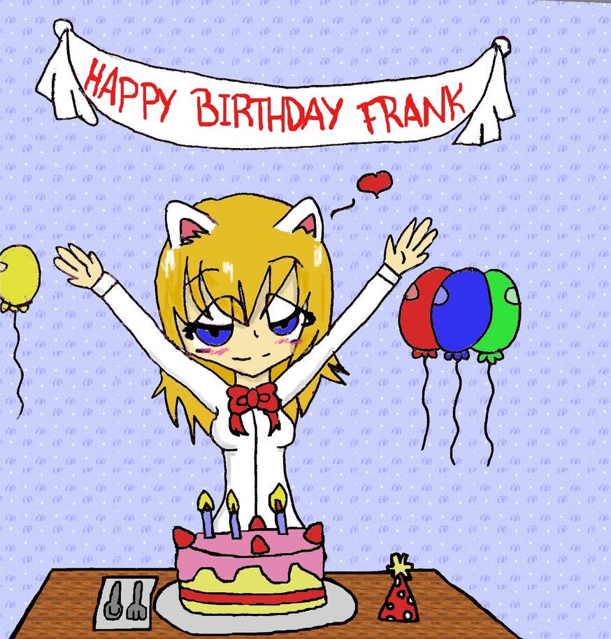 Happy  Th Birthday Frank Cake