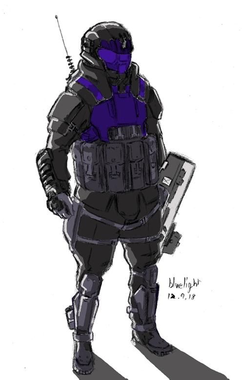 Halo Odst Fan Art By Bluelightt On Deviantart