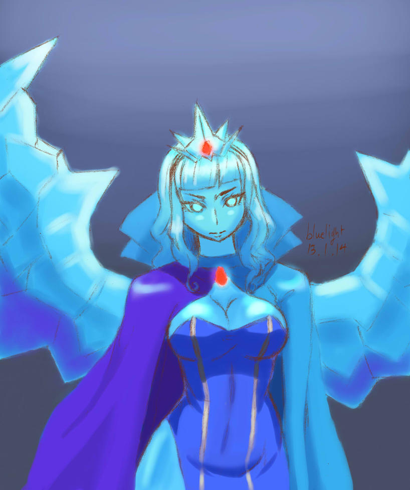 lol Anivia lol by bluelightt